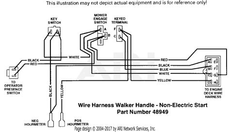 scag swz 20cve 40000 parts diagram for wire harness walker