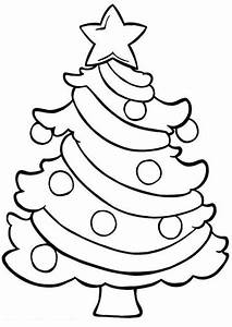 coloring page of christmas - easy coloring pages