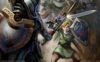 Twilight Princess Zelda Legend Wallpapers Sword Skyward