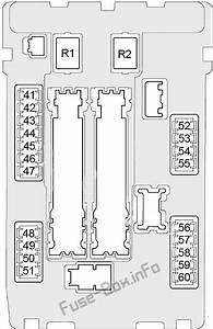 Fuse Box Diagram Infiniti Q70  Y51  2013