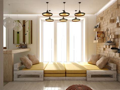 Futon Design by 3 Open Studio Apartment Designs