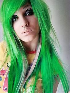 brazilian cara de cu colors dyed hair girl image