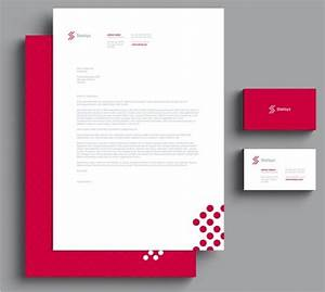 Letterhead template psd free printable letterhead for Stationery templates psd