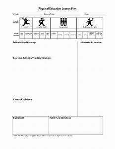physical education lesson plans for high school basketball With elementary pe lesson plan template