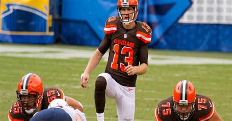 cleveland browns josh mccown latest  rip mayfield