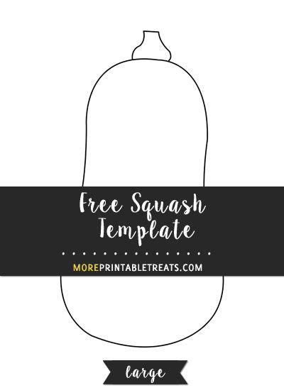 squash template large templates squash fun crafts