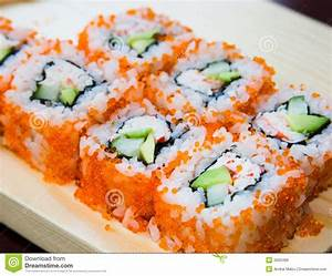 California sushi rolls stock imageImage of eating, fish