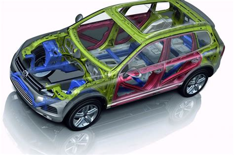 volkswagen touareg body structure boron extrication