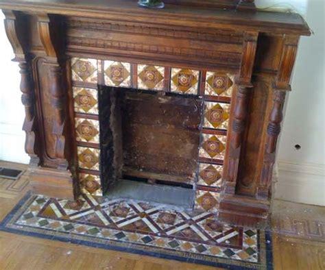 antique fireplace tiles best 25 vintage fireplace ideas on edwardian