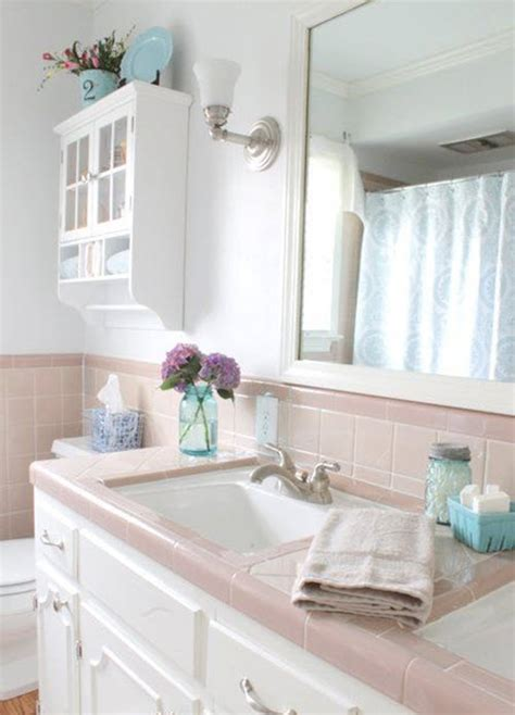 1950s bathroom tile 37 1950s pink bathroom tile ideas and pictures 10025