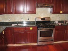 inexpensive kitchen backsplash ideas pictures kitchen backsplash ideas with cherry cabinets nucleus home
