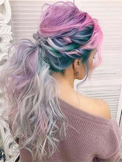The 25 Best Blue Hair Highlights Ideas On Pinterest