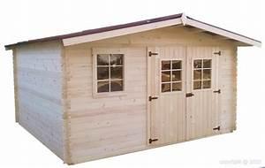 Abri De Jardin Bois 12m2 : abri de jardin en bois 4x3 m 12m2 garlaban avec 5 l de lasure pro bouvara bouvara ~ Voncanada.com Idées de Décoration