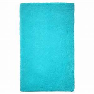 tapis de salle de bain de prestige turquoise With tapis de bain luxe