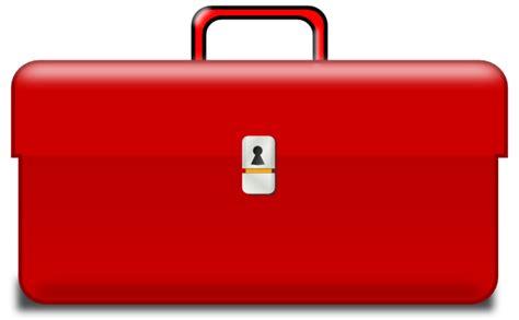 Toolbox, Red Handle Clip Art At Clkercom  Vector Clip Art Online, Royalty Free & Public Domain