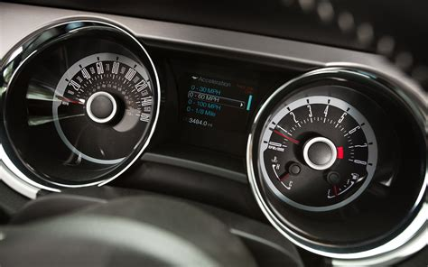 Ford Gt Speedometer by 2013 Ford Mustang Reviews And Rating Motor Trend