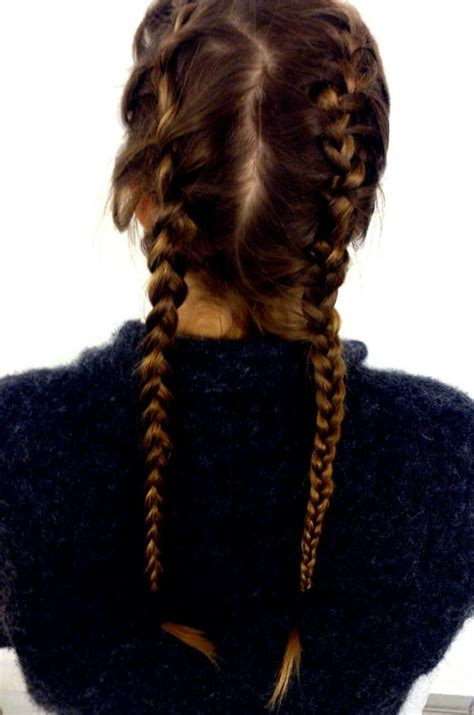 french braids tumblr
