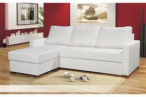 Canapé d'angle blanc Chlara Canapés d'angle Canapés et fauteuils Chloe design