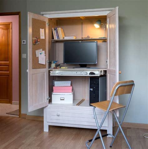 etageres archives bureau transformer une armoire en bureau