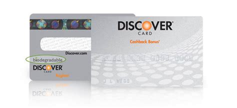 discover credit card designs is it green the biodegradable credit card inhabitat