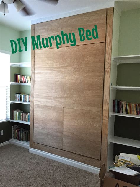 Diy Murphy Bunk Bed by Junk In Their Trunk Diy Murphy Bed Wall Bed