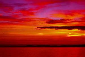 Warm, Sunset, Photograph, By, P, Donovan