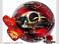 Schöne Abend Grüsse GB Bild animiert Facebook BilderGB