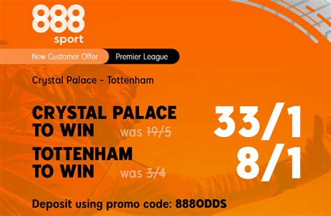 Crystal Palace v Tottenham Price Boost: Get 33/1 Palace Or ...