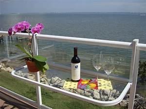 Balkonmöbel Für Kleinen Balkon : balkontisch gel nder kreative ideen f r innendekoration ~ Michelbontemps.com Haus und Dekorationen