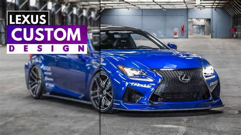 lexus rcf blue 2015 lexus rcf greddy concept ultrasonic blue mica youtube