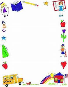 School Clip Art Borders | printable school borders image ...