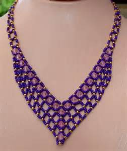 Free Seed Bead Necklace Patterns