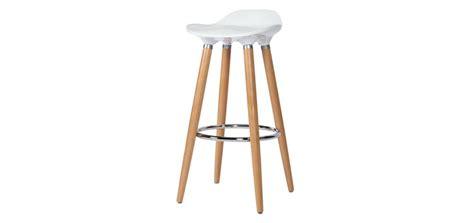 meuble alinea cuisine tabouret bar blanc et bois cuisine en image