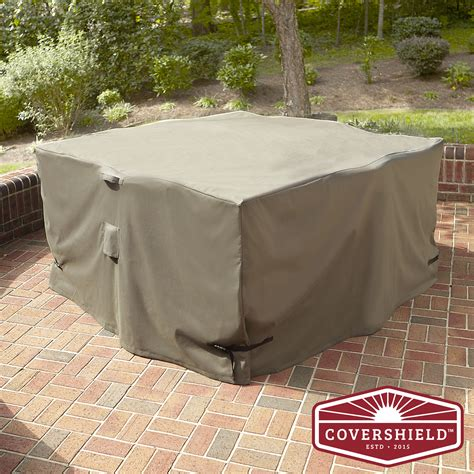 covershield 5pc square dining set cover elite shop your