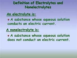 Aqueous Solution Chart Solution Stoichiometry Presentation Chemistry