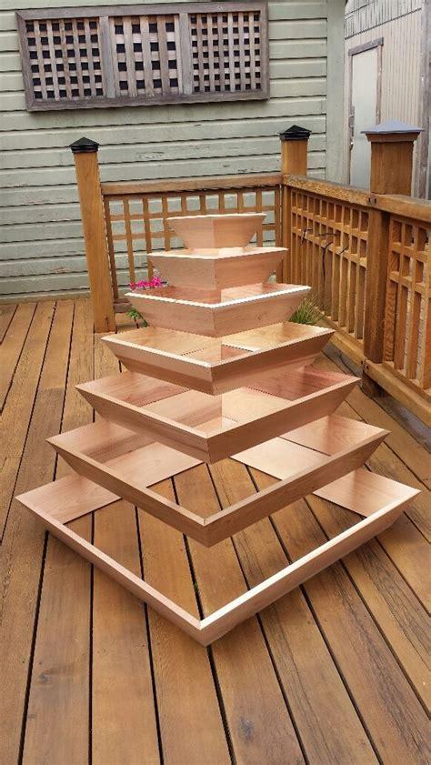 diy pyramid planter diy pinterest planters