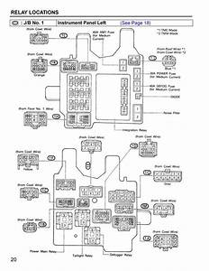 Where Is The Relay In A  U0026 39 94 Camry That Controls The Power