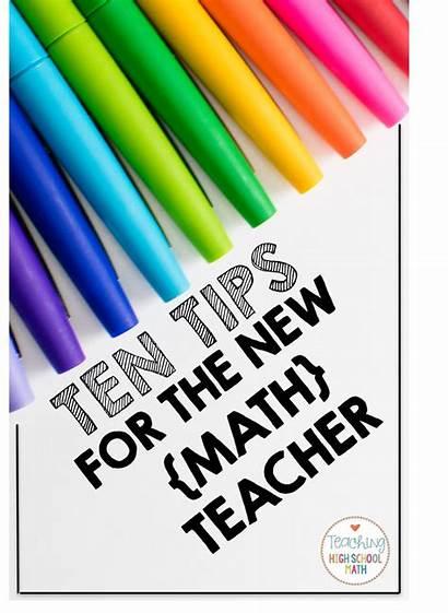 Math Teacher Tips Ten Teaching Classroom Education