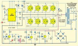 Sine Wave Inverter Circuit Diagram With Full Explanation