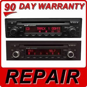 Repair Audi A3 A4 A6 A8 S4 S6 Tt Radio Concert Series Cd