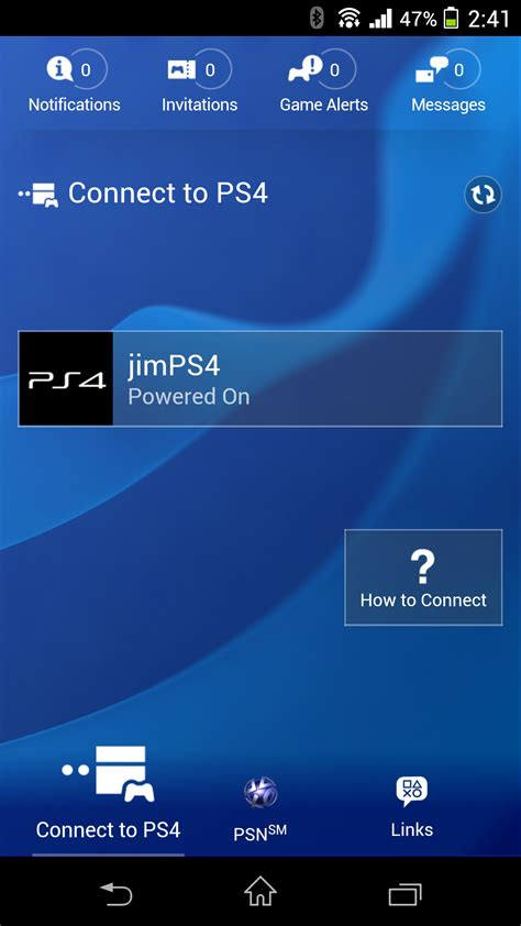 playstation 4 phone number how to connect your mobile phone to your ps4