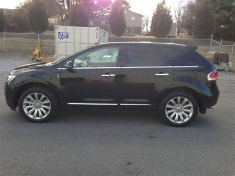 Sell used 2012 Lincoln MKX with PREMIUM AND ELITE PACKAGES