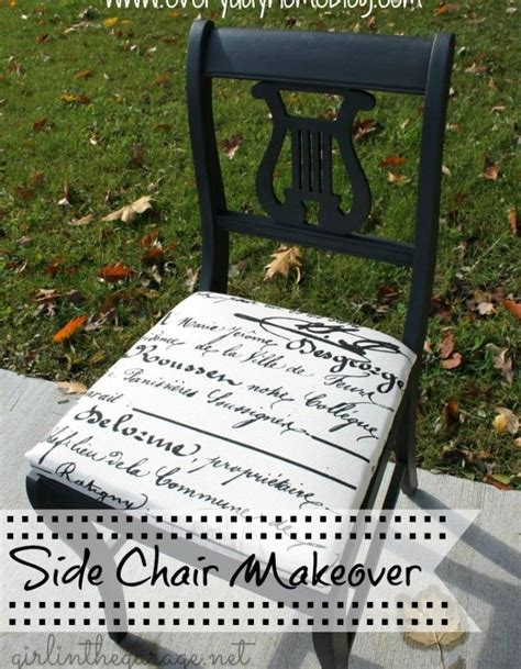 Chair Makeover {guest post   Chair makeover, Vintage chairs makeover, Diy chair makeover