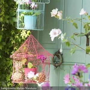 uber 1000 ideen zu vogelkafige auf pinterest With markise balkon mit tapete shabby