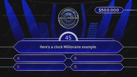 Who Wants To Be A Millionaire Blank Template Powerpoint by Gro 223 Artig Million 228 R Powerpoint Vorlage Fotos Beispiel