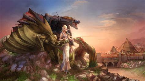 daenerys queen  meereen hd wallpaper background image