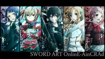 Characters Sword Schwertkunst Anime Sao Wallpapers