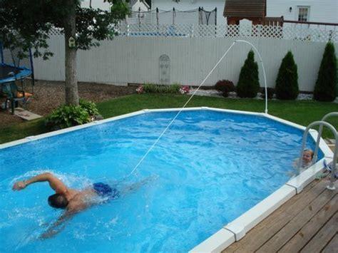 Swim Tether Lowimpact Stationary Swimming Exercise Belt