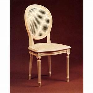 Chaise Louis Xvi : chaise louis xvi en hetre cann e meubles de normandie ~ Teatrodelosmanantiales.com Idées de Décoration