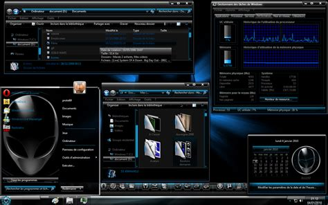 Alien Windows 7 Tema Paketi 2014 Full Türkçe İndir